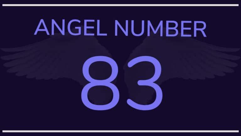 Angel Number 83: Meaning & Symbolism